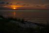Jekyll Point (alexmx22) Tags: georgia jekyllisland southgeorgia atlanticcoast sunset dunes grass jekyllsound clouds orange red sky nikon d600 fullframe digital water ocean seascapes