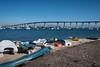 Coronado Bridge (Ginny Winblad) Tags: coronadobridge coronado sandiego boat