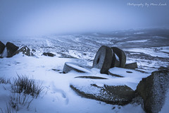 Stone Cold 1 (marc_leach) Tags: stanageedge peakdistrict nationalpark winter snow millstones cold misty canon tokina1116mm manfrotto055xprob
