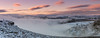 Wintry Sunset (Peter Quinn1) Tags: derwentvalley peakdistrict inversion misty higgertor winter january stanageedge