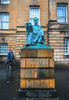 Beauty in things exists in the mind which contemplates them -David Hume- (Lorrainemorris) Tags: creative philosopher digitalart digitalphoto streetphotography statue davidhume scotland edinburgh 1635zeiss zeiss sony7rm2 artistic