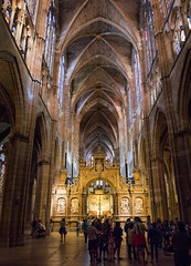 Catedral de Leon / Leon Cathedral (López Pablo) Tags: cathedral church leon spain building panorama nikon d7200