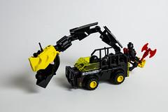 Blacktron Chomp Wagon (Uspez) Tags: febrovery lego blacktron bt space