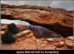 Arches National Park is a recreational wonderland. (janetfo747 ~ Dreaming of Africa) Tags: midwest utah arizona rock cliffs weather severe indian territory nationalpark usa
