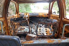 ruined car (smokykater - 600k+ views) Tags: burned car ruined old damage feuer fire auto zerstört verbrannt ruine mallorca spanien rost rust broken