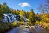 Bond Falls (Clint Everett) Tags: landscape nature fall autumn waterfall foliage water color michigan upperpeninsula forest nationalforest ottawanationalforest bondfalls