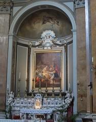 """Nascita di Maria"", 1806, Gaetano Gigante (1770-1840), église baroque (1627), Santa Maria di Caravaggio, piazza Dante, Naples, Campanie, Italie. (byb64) Tags: naples neapel napoli nápoles campanie kampanien campania cittàmetropolitanadinapoli italie italy italia italien europe europa eu ue unesco unescoworldheritagesite patrimoinemondial baroque baroco barocco xviie 17th seicento artbaroque église church chiesa iglesia kirche gaetanogigante nascitadimaria"