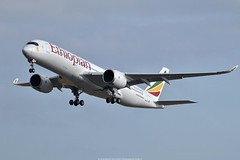 Airbus A350-900 Ethiopian Airlines ET-AVB (Planes Spotter And Aviation Photography By DoubleD) Tags: airbus a350 a350900 xwb planes aircraft take off airlines ethiopian spotters spotting aviation rolls royce engines air sky toulouse lfbo canon eos