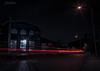 Lights in The Dark (Fredrik Lindedal) Tags: city cityscape cityview oldtown oldcity night nightfall nightshot nightlights house window light sweden sverige gothenburg göteborg lindedal