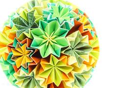 Kusudama (bobo.ling) Tags: paperfolding origami kusudama paper