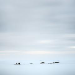Tranquil places (blondmao) Tags: sunrise srilanta kohlanta indianocean klongninbeach rocks clouds sea beach 10stopper longexposure andamansea ocean island sky noperson dawn minimal krabi thailand