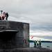 USS Alabama returns home to Naval Base Kitsap-Bangor.