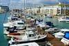 Brighton Marina (Henry Hemming) Tags: brighton marina blue yacht boat moorings sun lines many multitude seafaring nautical colour rich