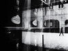 reflection (Sandy...J) Tags: noir reflection street streetphotography sw schwarzweis strasenfotografie stadt silhouette shadow spiegelung urban blackwhite bw black walking white walk deutschland germany winter photography fotografie olympus mono monochrom city