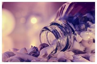 Seashells in a bottle