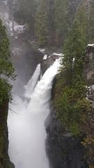 Elk Falls (Bill 3 Million views) Tags: waterfall river elkfalls campbellriver bc toyota rav4 snow winter trail park capitalregionaldistrict canon 600d galaxynote5 johnhartdam