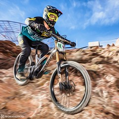 Off the Mountain (philbeckman56) Tags: mtb bicycleracing bootlegcanyon bouldercity downhill mountainbike nevadastatechampionships sports action canon