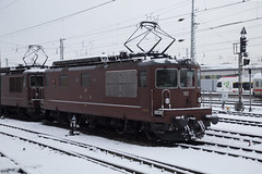 BLS Re 4/4 425 185 Basel Bad (daveymills31294) Tags: bls re 44 425 185 basel bad baureihe