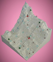 Alpine (simplybrickingit) Tags: toy bricks blocks lego moc fun afol uk 2018 model art winter olympics skiing alpine