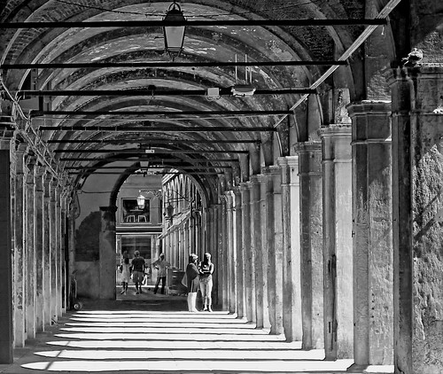 Italy Venice black&white