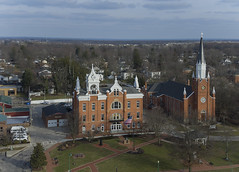 Wellington Ohio Town Hall (player_pleasure) Tags: ariel drone inspire