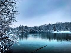 Deep Water (tobias.krasser) Tags: lightroom landschaft iphone7 schnee kalt cold winter lake water