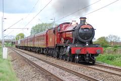5972 Moss Pit 20/05/2010 (Brad Joyce 37) Tags: 5972 oltonhall steam locomotive harrypotter steamtrain filmstar ecs red mosspit staffordshire 200510
