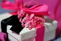 Surprise!!! (anneescott) Tags: gift present birthday surprise ribbon pink 52in2018challenge