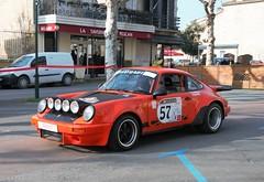#57 Porsche 911 sc - 02 (kinsarvik) Tags: castillonlabataille gironde bordeauxaquitaineclassic rallye rally