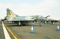 Dassault Mirage 2000C 64 / 330-AQ 01 Fairford 19.07.1997 (Victor Vulcan) Tags: dassaultmirage2000c 64 330aq frenchairforce arméedelair fairford aircraft airplane plane aeroplane