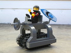 Is There Water On Mars? - Febrovery 2018 No.27 (captain_joe) Tags: toy spielzeug 365toyproject lego minifigure minifig moc febrovery surfer