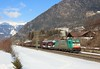 E483 002, Colle Isarco,  8 Feb 2017 (Mr Joseph Bloggs) Tags: e483 483 002 e483002 483002 bombardier traxx rtc rail traction company colle isarco brenner brennero verona porta train treno freight cargo merci mountain mountains snow railway railroad vescovo 48861