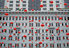 """the peninsula and chinese new year"" (hugo poon - one day in my life) Tags: xt20 35mm hongkong kowloon tsimshatsui salisburyroad thepeninsula architecture chinesenewyear lantern red heritage yearofthedog lookingup festive hotel"