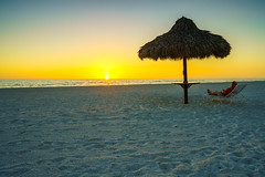 Sunset at Longboat Key (floydbob) Tags: sunset longboat relax ocean florida beach key