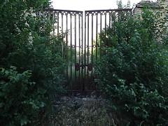 (MarisaTárraga) Tags: españa spain puerta door verde green naturaleza nature parque park fujifilmsl300