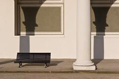Dresden (duesentrieb) Tags: architecture architektur bank bench column deutschland dresden germany sachsen saxony schatten shadow säule