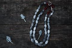 IMG_1438_1 (Anastàssia) Tags: smokefired ceramicjewelry gray grey jewelrydesign shadesofgray tribal earthy shaman ceramics necklace handmade imadeit fetama hechoamano