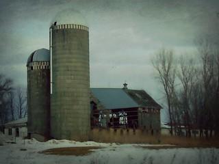 See through barn. HSS