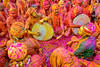 Radhe Radhe (blackdiegoz) Tags: india indian incredibleindia divine streetphotography streetsofindia music color culture celebration colours people portraits hindu pink places travel mathura holi hym