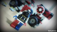 Harley's New Truck (WattyBricks) Tags: lego dc comics superheroes batman gotham rogues gallery harley quinn harleen quinzel joker