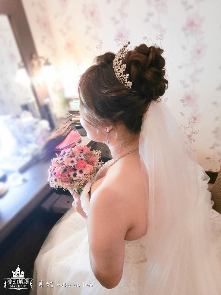 【新秘蓁妮】bride嫚嫚 結婚造型 / 南投南島婚宴會館