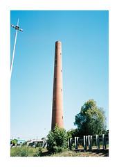 The Shot Tower (jimmmyange) Tags: mju ii olympus point shoot kodak portra 160 melbourne saftey beach victoria australia summer 2018