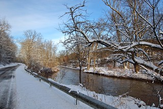 Creekside winter blues
