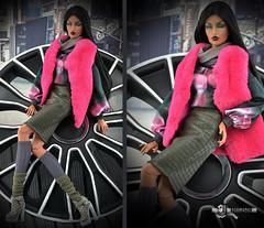 Vest-3 (Dollfason) Tags: коллекционная кукла одежда для кукол dolloutfit fashionfordoll fashiondoll fr16 collection clothes for dolls streetstyle