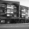 Golden Lane Estate (cybertect) Tags: chamberlinpowellandbon cityoflondon goldenlaneestate goswellroad london modernism olympusomzuikoshift35mmf28 sonya7 architecture blackwhite blackandwhite building concrete monochrome