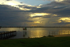 SUNRISE (R. D. SMITH) Tags: sunrise dawn morning water clouds florida shore indianriver brevardcountyflorida canoneos7d