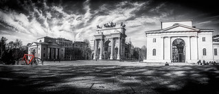 Porta Sempione in Black & White, Milano