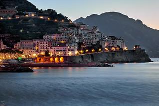 Waking up in Amalfi