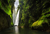 Getting to the heaven's door (Luc Stadnik) Tags: waterfall canyon brazil parana adventure paradise green water