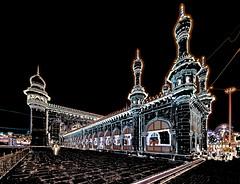 India - Telangana - Hyderabad - Mecca Masjid - 16dd (asienman) Tags: india telangana hyderabad meccamasjid asienmanphotography asienmanphotoart